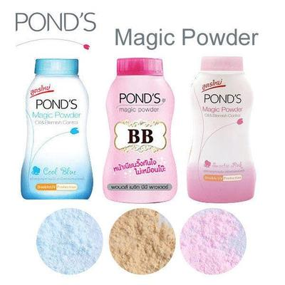 Perbedaan Ponds Magic BB Powder VS Marcks