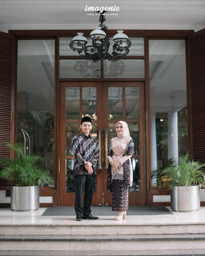 4 Model Kebaya Muslim Couple Kekinian yang Bisa Kamu Pakai dengan Si Dia Saat Lamaran