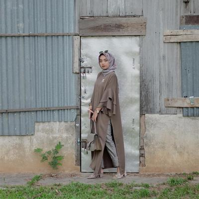 Hijab Voal dan Long Top