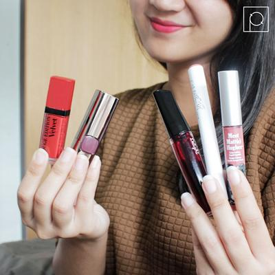 Lipstick, Lipcream Atau Liptint, Mana Pilihanmu Ladies? Kasih Pendapatmu Yuk!