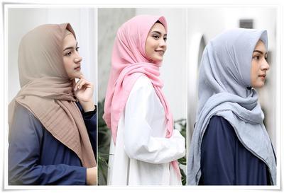 Duh, 5 Kesalahan Memilih Bahan Hijab ini Bisa Bikin Kamu Mati Gaya Seharian!
