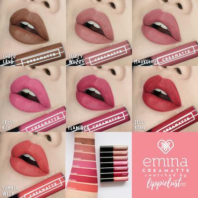 Rangkaian Koleksi Warna Emina Lip Cream yang Tenyata Cocok untuk Si Kulit Sawo Matang
