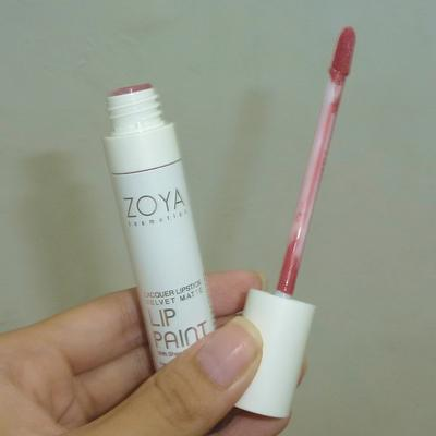 Zoya Lip Paint bagus enggak sih ladies? Ada yang udah pakai?