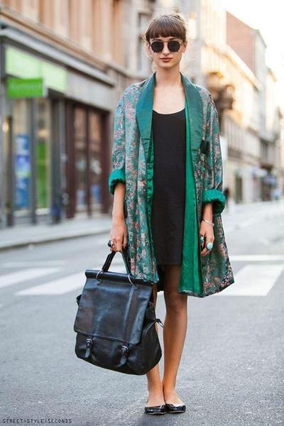 Kimono & Simple Dress