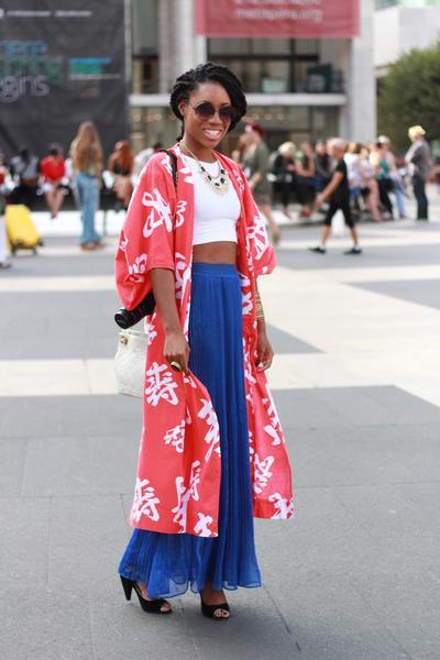 Kimono & Maxi Dress