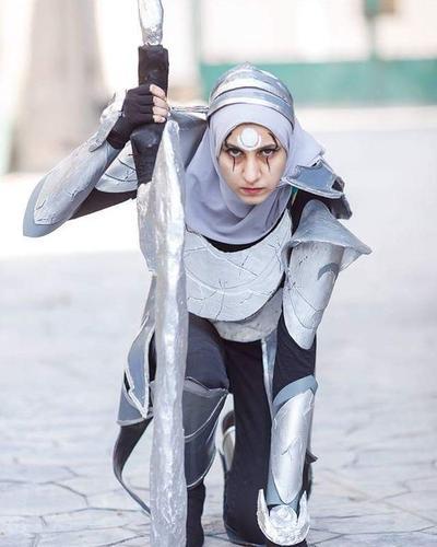 Ini Kumpulan Inspirasi Gaya Hijab Cosplayer yang Kekinian, Berani Coba?