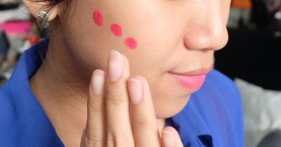 Lip Cream Sebagai Cream Blush