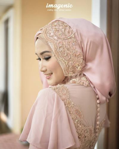 Style Hijab Brokat