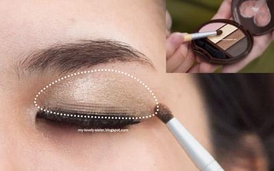 Trik makeup untuk bikin kelopak mata gimana ya?