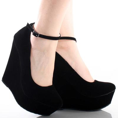 Angkle Strap Wedges