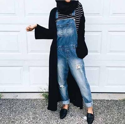 Overall Jeans untuk Gaya yang Unik