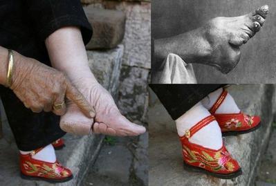 Sepatu Kecil di China