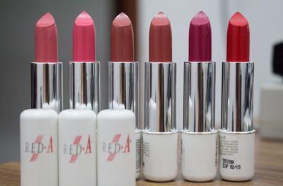 Siapa yang pakai lipstik Red A? Warna apa yang paling bagus?