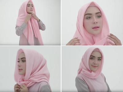 2. Hijab Segiempat Volume