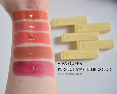 Viva Queen Matte Lipstick