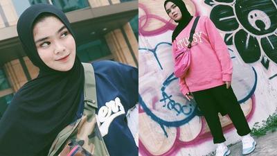 Kerennya Hijab Hypebeast Ala Sivia Azizah Ini Bisa Kamu Contek, Lho!