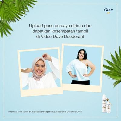 Tunjukkan Pose Percaya Dirimu dan Raih Kesempatan Tampil di Video Dove Deodorant!