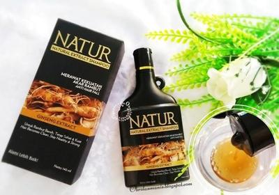 Natural Extract Shampoo | Rp27.000