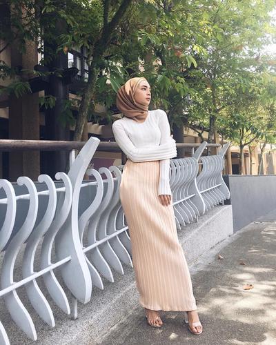 Warna Hijab Cokelat