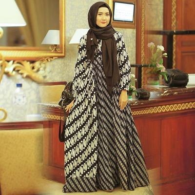 Dress Hijab Batik