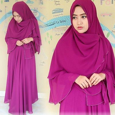 Bahan Hijab syar'i Sifon