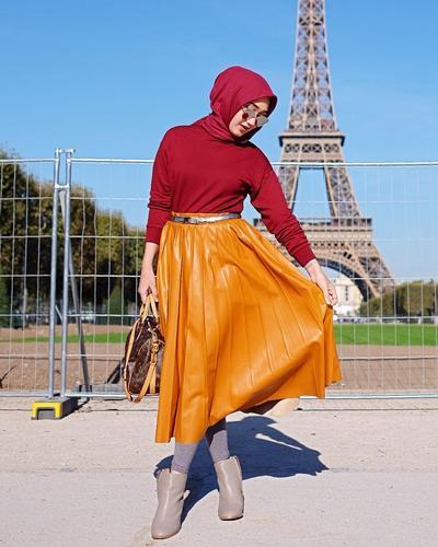 4. Midi Skirt