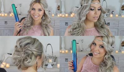 Ladies, Begini Trik Mendapatkan Rambut Keriting dengan Catokan Lurus!
