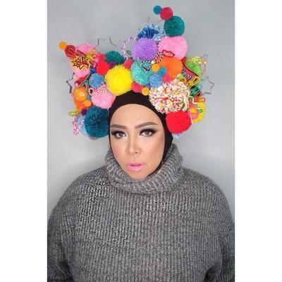 Hijab Pom-pom