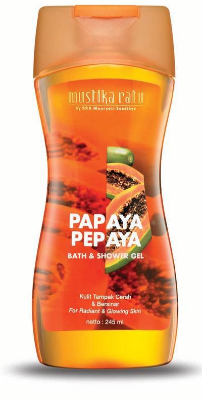 Mustika Ratu Pepaya Shower Gel