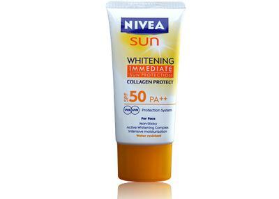4. Nivea Sun Whitening Face Cream SPF 50