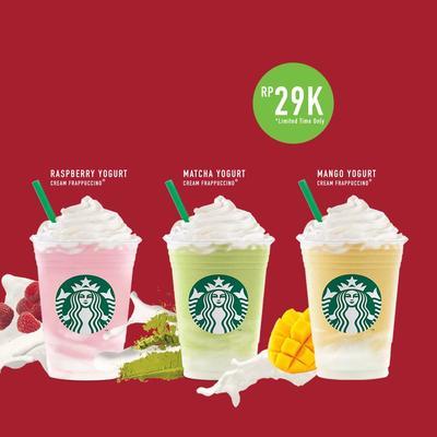 Cuma 29K, ada yang udah nyobain 3 varian rasa baru Starbucks Holiday Delights?