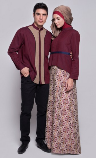 Baju Muslim Moderen Couple