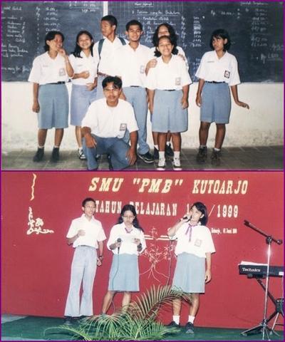Seragam Sekolah Anak Zaman Dulu