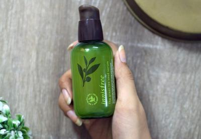 Innisfree Green Tea Seed Serum Recommended Gak Sih untuk Kulit Kombinasi?