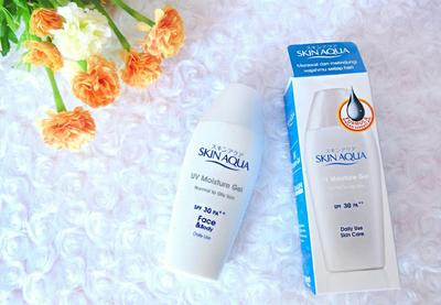 Skin Aqua UV Moisture Gel SPF 30 PA++ Normal to Oily Skin