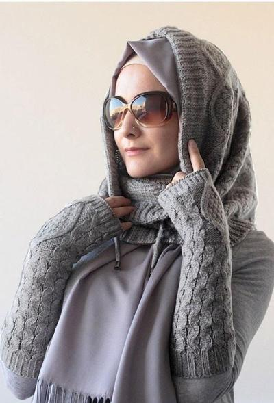 Hijab Instan Rajut