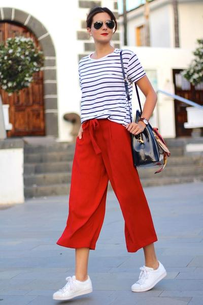 T-shirt with Culottes