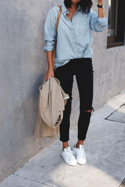 Sneakers with Shirt