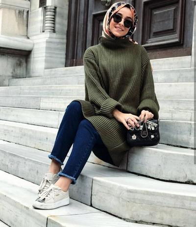 Casual Look with Sport Shoes