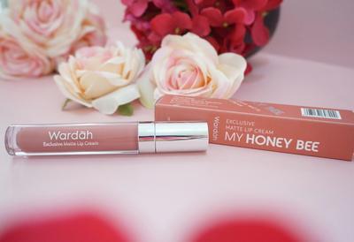 Wardah Exclusive Matte Lip Cream No. 14 Honey Bee