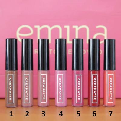 Lip Cream Emina Bagus Gak Ladies? Warna Apa Ya Yang Paling Bagus di Kulit Sawo Matang?