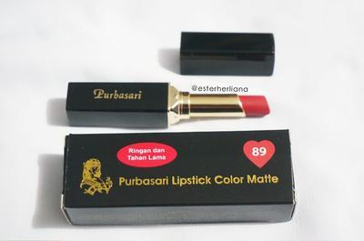 Purbasari Lipstick Color Matte No. 89 Jade