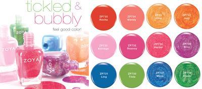 Ladies, Ini Lho Warna-Warni Cantik Kutek Zoya yang Halal dan Berkualitas