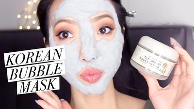 Gemes Banget! Masker Korea ini Punya Efek Bubble Yang Mengembang dan Bikin Muka Lebih Bersih!