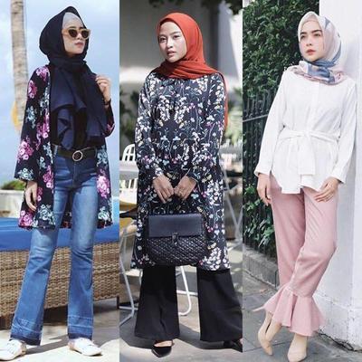 Classy dan Fashionable, Ini 4 Cara Mix n' Match Celana Cutbray Untuk Hijabers
