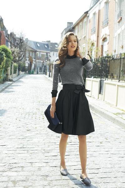 Black Skirt is The Key