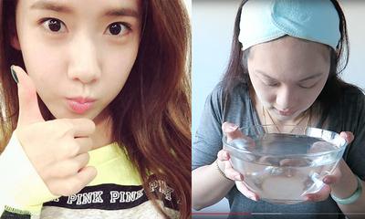 Unik Abis! Teknik Merendam Wajah ala Cewek Korea Ini Dijamin Bikin Makeupmu Anti Luntur!