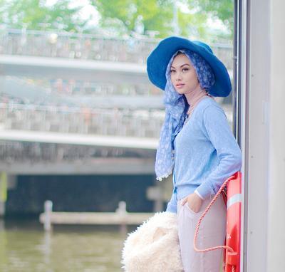 Yuk Simak Transformasi Gaya Hijab Selebgram Indah Nada Puspita!