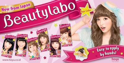 Pewarna rambut Beautylabo dari Jepang..