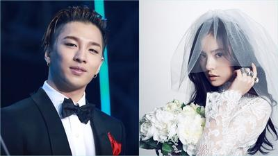 Bakal Nikah Bulan Depan! Menurut Kalian Taeyang 'Big Bang' dan Min Hyo Rin Serasi gak sih?
